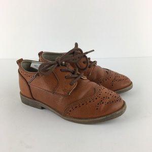 Koalakids Brown Oxford Dress Shoes Size 8